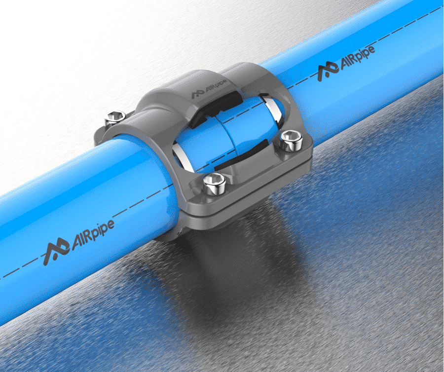AIRpipe products: aluminum piping systems for compressed air