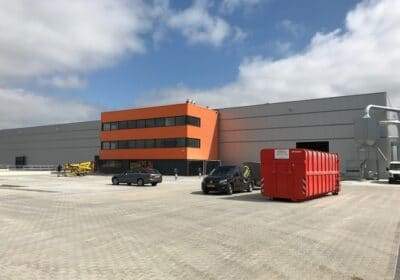 AIRPIPE in de Remako fabriek in Biddinghuizen.